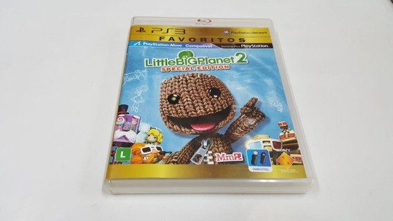 Jogo Little Big Planet 2 - Ps3 - Original - Mídia Física