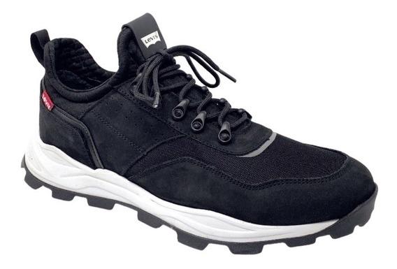 Zapato Teni Caballero L210151 Levis Negro