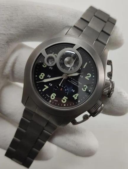 Relógio Hamilton Khaki Navy Frogman - Monopusher - Pouco Uso