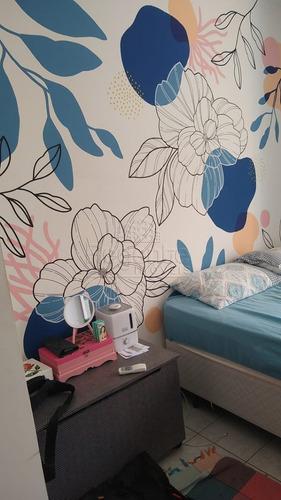 Imagem 1 de 9 de Apartamento A Venda Com 3 Quartos No Bairro Abraao Em Florianopolis - V-81775
