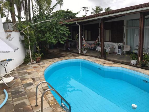 Casa Guaruja Enseada 250 Mt Praia 410mt 5 Quartos Piscinatop