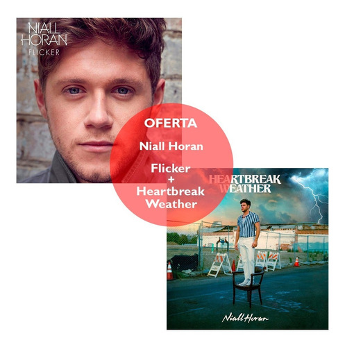 Imagen 1 de 6 de Cd Niall Horan - Heartbreak Weather + Flicker - Universal