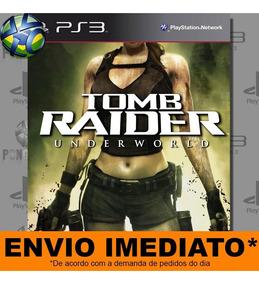 Jogo Tomb Raider Underworld - Promoção Pronta Entrega | Ps3