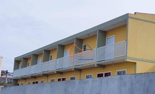 Imagem 1 de 29 de Sobrado Com Excelente Localização Com 2 Dormitórios Sendo 2 Suítes E 2 Vagas À Venda Por R$ 260.000 - Cidade Líder - São Paulo/sp - So0485