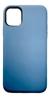 Funda Alto Impacto Liso iPhone 11 Pro + Templado Full Cover