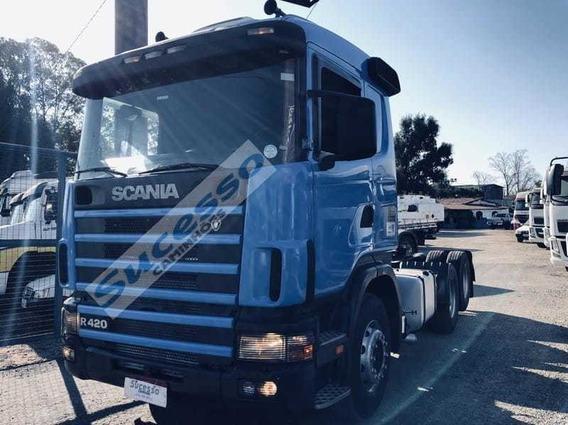 Scania R 124 Ga 420 6x2