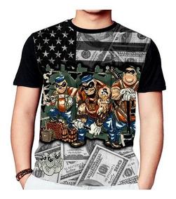 Camisa Camiseta Tio Patinhas Irmãos Metralhas 792