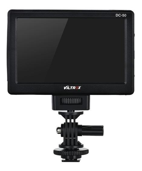Monitor Viltrox 5 Polegadas Clip-on 480p Hdmi P/ Foto Dslr