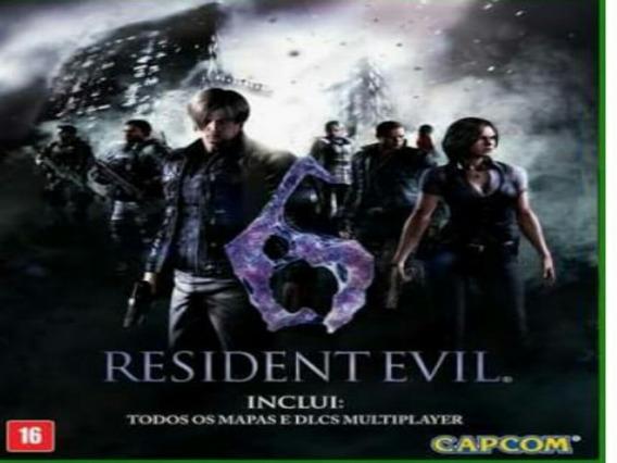Resident Evil 6 Xbox 360 Midia Digital