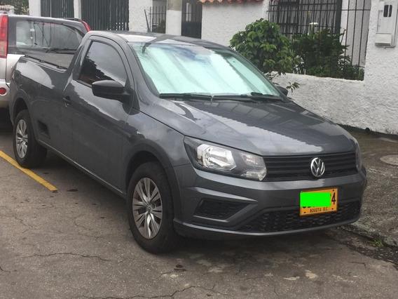 Volkswagen Saveiro Motor 1.6 2020 Gris 2 Puertas