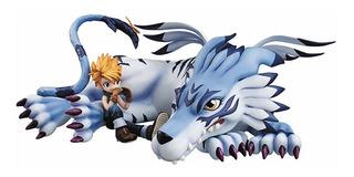 Juguete Colección Megahouse Digimon Adventure Garurumon & ®