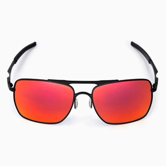 Óculos De Sol Masculino Deviation Vermelho Polarizado Co00-