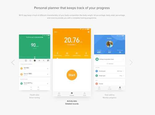 Bascula Xiaomi Mi Body Composition Smartscale 2 Version 2019 | Mercado Libre
