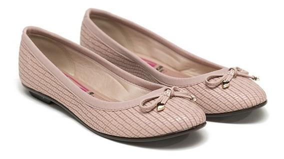 Chatitas Mujer Moño Sin Cordones Moleca Dama Zapatos