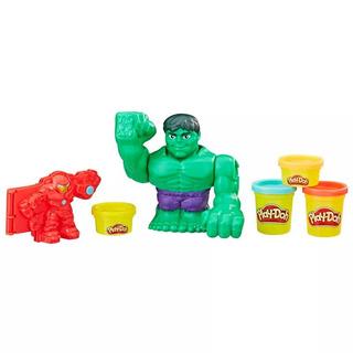 Massa De Modelar - Play-doh - Combate Com Hulkbuster - Hasbr