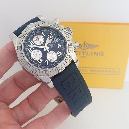 Breitling Avenger Ii Chronograph Automático Impecável