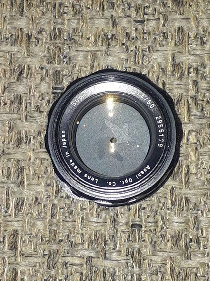 Pentax Super-takumar 50mm F/1.4 Rosca M42