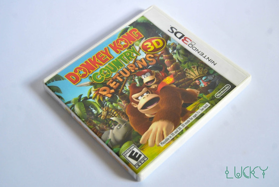 Donkey Kong Country Returns 3d - Nintendo 3ds/2ds - Com Luva