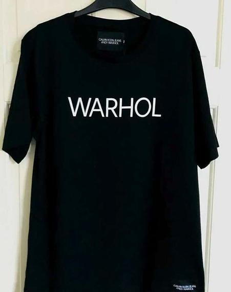 Playera Calvin Klein Edición Especial Andy Warhol Ck