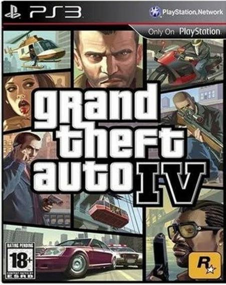 Gta 4 - Grand Theft Auto I V Ps3 Play3 Jogo Em Promoção