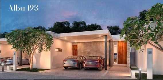 Hermosa Residencia De 2 Recámaras En Venta En Alba Residencial, Mod. 193