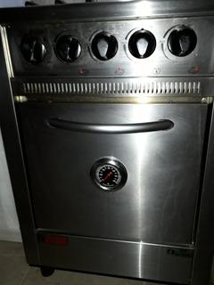 Cocina Industrial De Acero Fornax - Como Nueva!