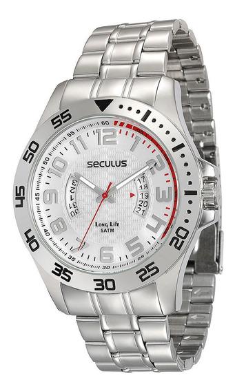 Relógio Masculino Analógico Seculus 28690g0svna1