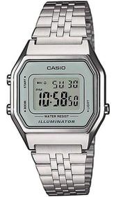 Relógio Casio Original Feminino La680wa-7df Com Nota Fiscal