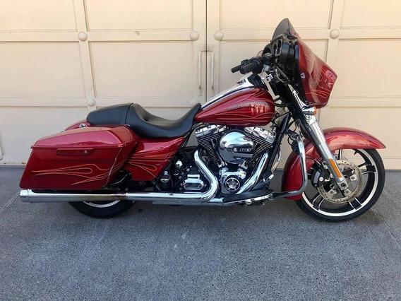 Harley Davidson Street Glide Roja 2015