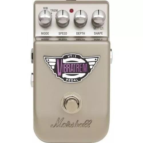 Pedal Marshall Vibratrem Tremolo E Vibrato Vt1 + Nf!