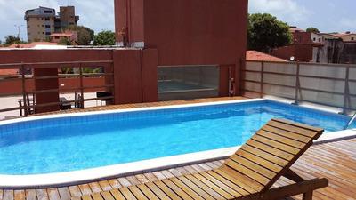 Flat Em Ponta Negra, Natal/rn De 44m² 1 Quartos Para Locação R$ 1.150,00/mes - Fl248455
