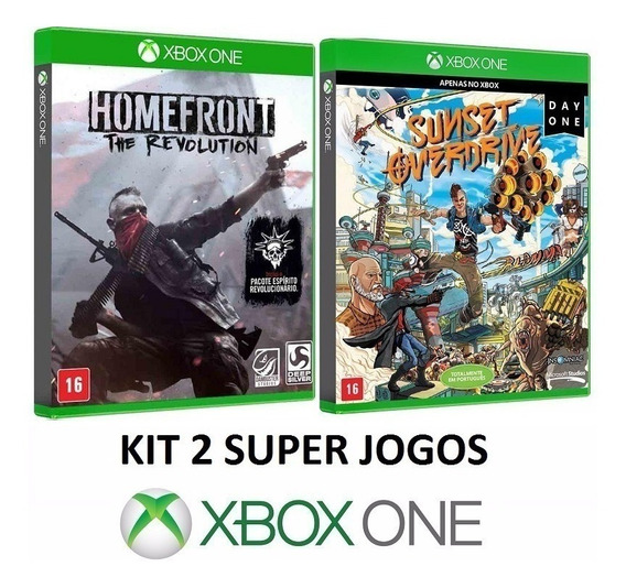 Homefront The Revolution + Sunset Overdrive - Xbox One