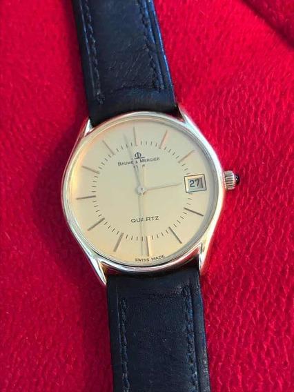 Relógio Masculino Em Ouro 18k 750 Baume Mercier - Barato
