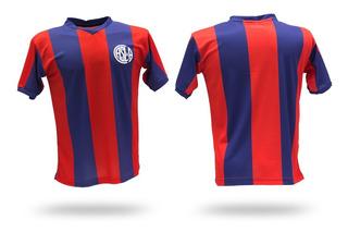 Camiseta De Futbol Retro De San Lorenzo