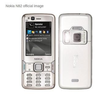 Telefone Celular Nokia N82 Branco - Desbloqueado - Excelente