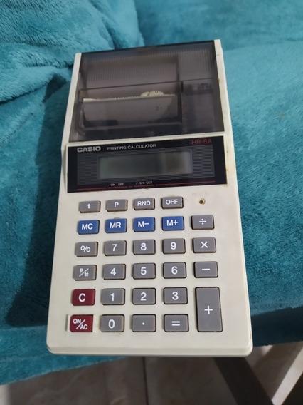 Calculadora Casio Hr8 Funcionando