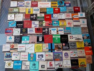 Cajitas De Fosforos Gran Lote De 95 Diversas Publicidades
