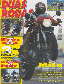2r.330 Mar03- Cbr450 Drag Star Shadow Bros125 Xtz Monster