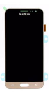 Modulo Pantalla J3 J320 (2016) Dorado *original* Samsung
