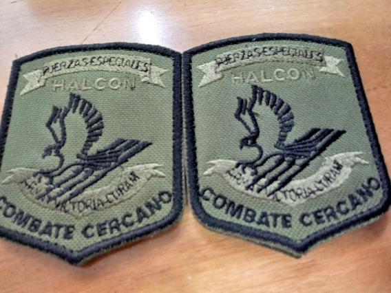 Parche Fuerzas Esp. Grupo Halcon Bordado Y Con Velcro