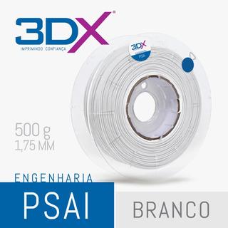 Filamento Ps Ai 1,75 Mm | 500g Branco (poliestireno) 3dx