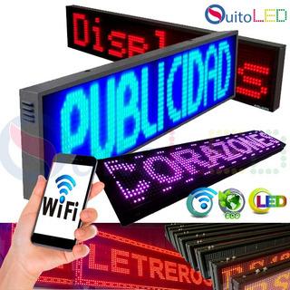 Letreros Led Programables Rótulos Led Wifi 500 Caracteres