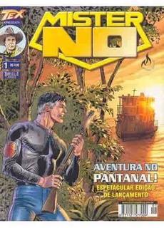 Hq Mister No Nº 1 Ano 2002 Rara