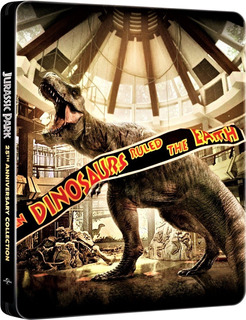 Steelbook Jurassic Park 4 Filmes Bluray Lacrado Black Friday