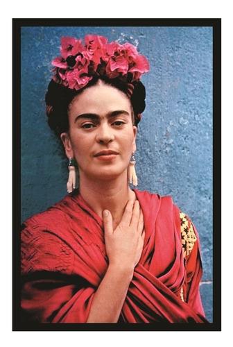 Quadro Decoração Sala Foto Frida Kahlo