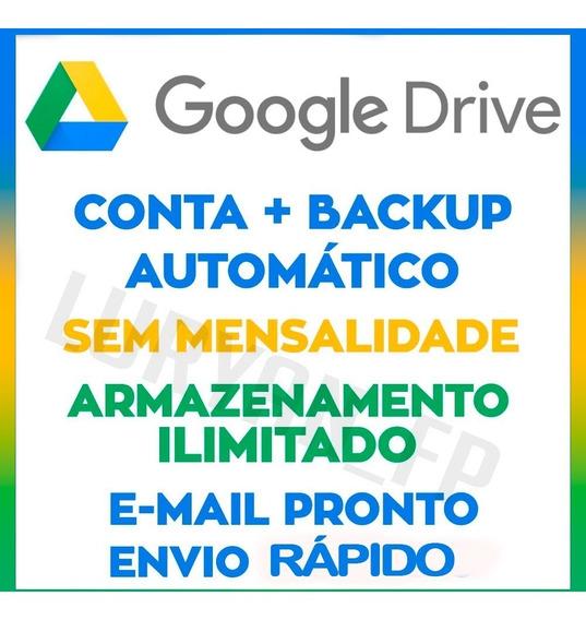 Google Drive - Armazenamento Ilimitado E Vitalício Sempre