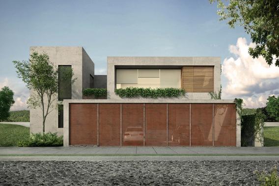 Terreno Habitacional Con Proyecto Arquitectónico En Venta En Loma Real