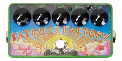 Pedal Zvex Fat Fuzz Factory Vexter C/ Nfe & Garantia