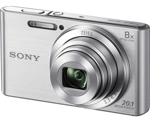 Sony Cyber-shot DSC-W830 compacta cor  prateado