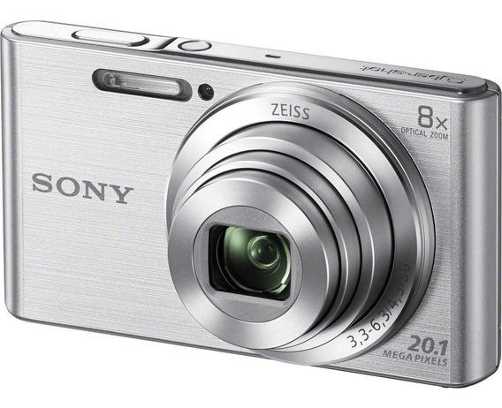 Sony Cyber-shot DSC-W830 compacta cor prata